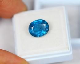5.41ct Greenish Blue Kyanite Oval Cut Lot GW2202