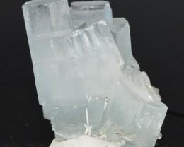 AQUAMARINE 60,4 grams - RARE lustrous crystals cluster - Pakistan