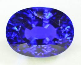 AAA Grade 35.05 ct D'Block Tanzanite eye catching Color