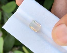 1.75 Ct Natural Very Light Bi Color Transparent Tourmaline Gemstone