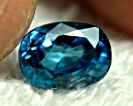 4.67 Carat VVS London Blue Zircon - Superb