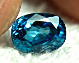 4.67 Carat VVS London Blue Zircon - Superb