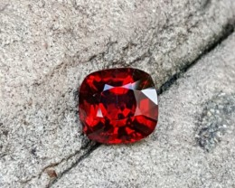 BURMESE 1.83 CTS UNTREATED TOP QUALITY VVS STUNNING VIVD RED SPINEL