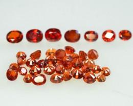 25.50 ct Natural Hessonite Garnet Lot , From Pakistan