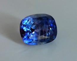13.89ct Unheated Bi Color Blue Sapphire Sri Lanka GIA