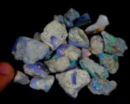 82.5Cts Ethiopian Welo Rough Opal Parcel Lot