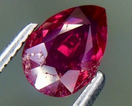 1.06 Crt GIL Certified Natural Ruby Top Color Faceted Gemstone.