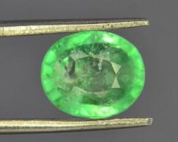2.00 ct Natural Untreated Light Colar Emerald~Panjshir
