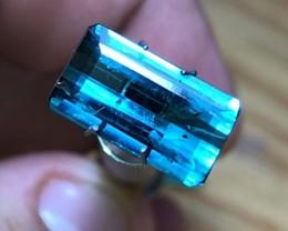 4.05 cts Blue Indicolite Tourmaline - Ocean Blue - Brazilian