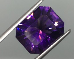 7.21 Carat VVS Amethyst Master Cut - Gorgeous Gemstone !