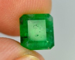 Top Color 2.55 ct Natural Emerald~Swat