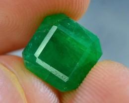 Top Color 3.90 ct Natural Emerald~Swat $600
