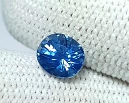 NO HEAT CERTIFIED 1.09 CTS NATURAL BEAUTIFUL VIVID BLUE SAPPHIRE CEYLON