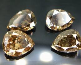 1.20 Crt Natural Diamond Parcels Faceted Gemstone (R 16)