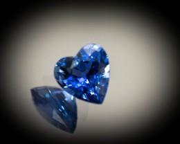 Lotus Sapphire 7 mm 1.42 ct Sri Lanka