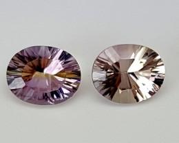 2.90 CTS BOLIVIA AMETRINE Best Grade Gemstones JI23