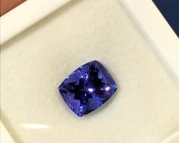"""9.70carats Violet Blue Excellent """"D"""" Block Tanzanite"""