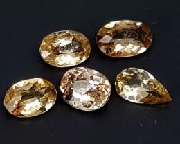 2.55 CTS RAREST AXINITE LOT Best Grade Gemstones JI23