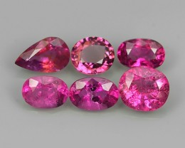 private auction 5.55 CT WONDERFUL RARE OVAL SHAPE NATURAL PINK RUBELITE TOU