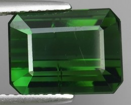5.01 CTS GENUINE NATURAL ULTRA RARE NICE-GREEN TOURMALINE NR!