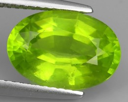 4.30 Cts AWESOME BURMESE NATURAL RARE GREEN PERIDOT GEM NR