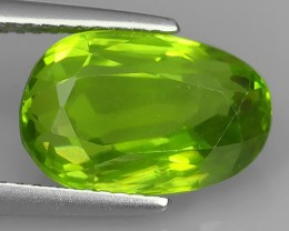 5.95 Cts AWESOME BURMESE NATURAL RARE GREEN PERIDOT GEM NR
