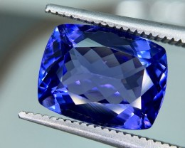 4.20 Crt Tanzanite AAA Top Quality Faceted Gemstone