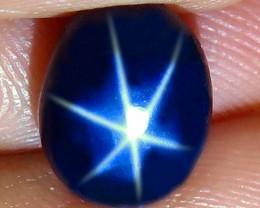 5.34 Carat Thailand Blue Star Sapphire - Gorgeous