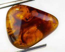16.85ct Natural Amber . No reserve . 1$ start