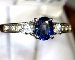9.15-CTS    SAPPHIRE RING BLUE AND WHITE  SG-2640