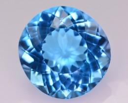 22.20 Ct Natural Superb Color Natural Blue Topaz ~ Swiss