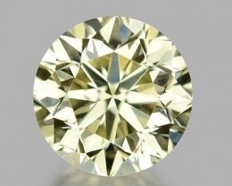 0.38 CT DIAMOND WITH SPARKLING LUSTER GEMSTONE WD9