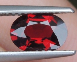1.06cts  Certified Red Spinel from Burma ,  100% Untreated,