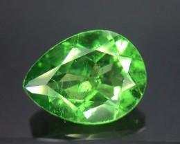 1.42 Crt GIL Certified Tsavorite Faceted Gemstone