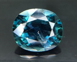 0.82 Crt GIL Certified Sapphire Faceted Gemstone (R 17)