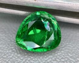 2.15 Crt GIL Certified Tsavorite Faceted Gemstone