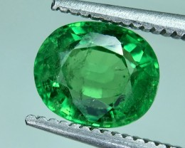 1.59 Crt GIL Certified Tsavorite Faceted Gemstone