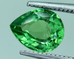 1.66 Crt GIL Certified Tsavorite Faceted Gemstone
