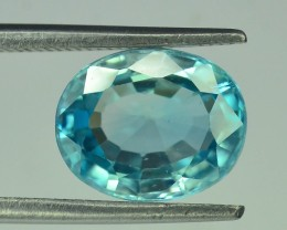 3.25 ct Natural Blue Zircon From Cambodia