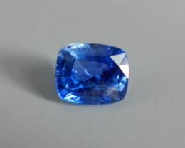 6.46ct Unheated Cornflower Blue Sapphire Sri Lanka