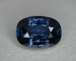 3.40 ct cobalt certified unheated natural color change spinel.