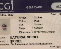 Not enhanced no treatment.  Natural spinel.