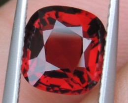 2.56cts  Certified Red Spinel from Burma ,  100% Untreated,