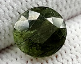 2.30CT RUTILE PERIDOT  BEST QUALITY GEMSTONE IGC505