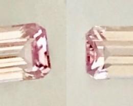 Sweet Pink Emerald Cut 2.65ct Tourmaline - Vietnam