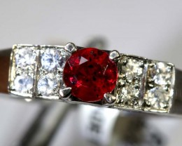 10.7-CTS  RUBY RING    SG-2653