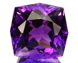 ~JEWELRY GRADE~ 3.91 Cts Natural AAA Purple Amethyst Fancy Cut Bolivia