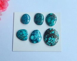 56ct Natural turquoise cabochons ,healing stone ,wholesale (18091104)