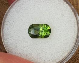 1,42ct Green Zircon - Designer cut!