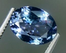 2.05 Crt Natural Tanzanite Beautifulest Faceted Gemstone.( AG 49)